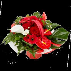 """Attachante - """"Bouquet Rouge..."""